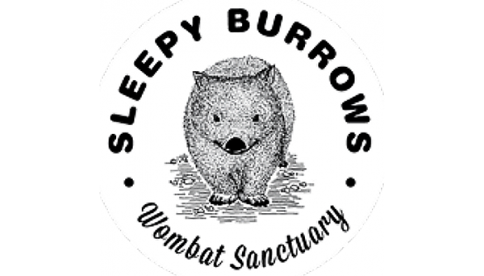 Sleepy Burrows Logo BW